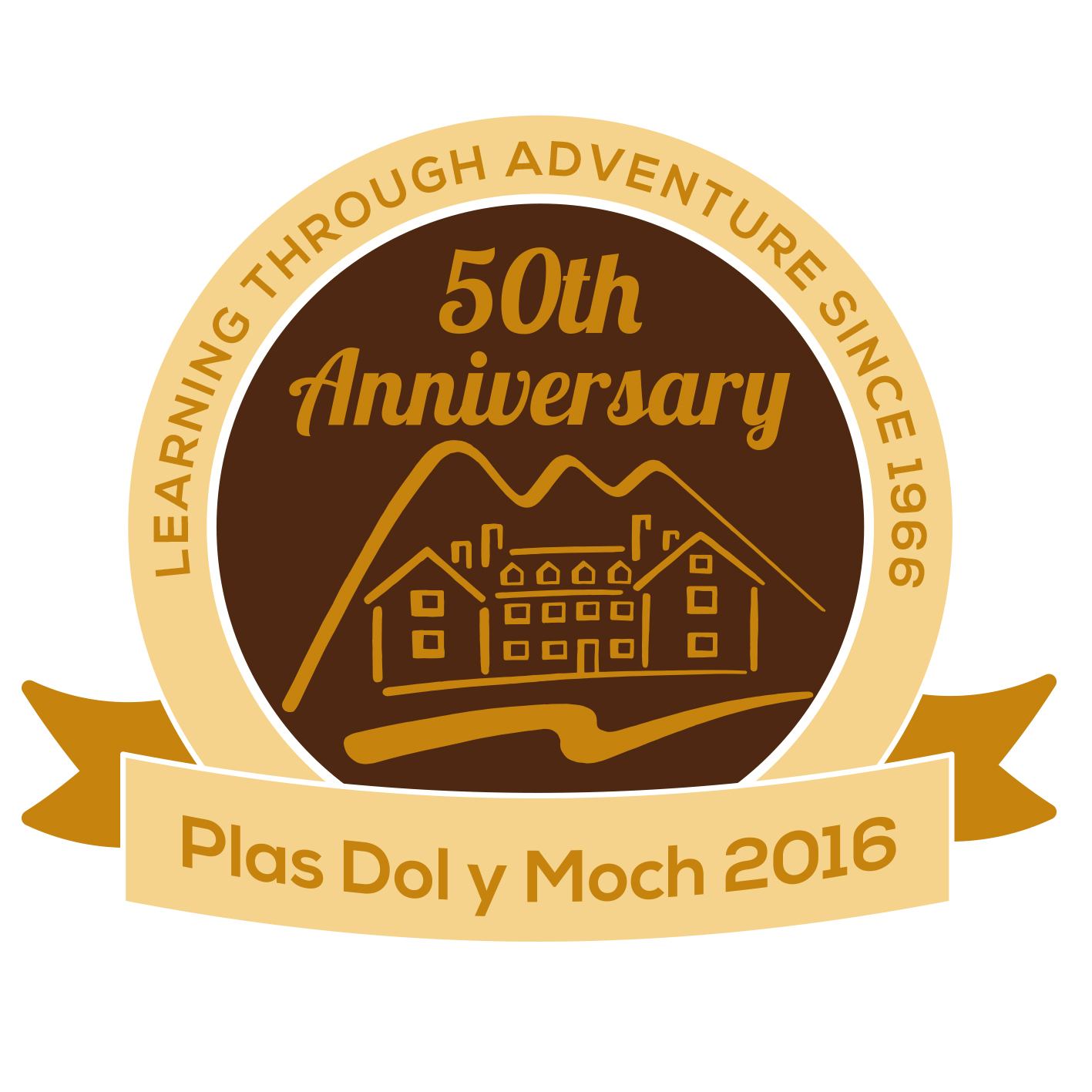 Plas DolyMoch 50th Anniversary design